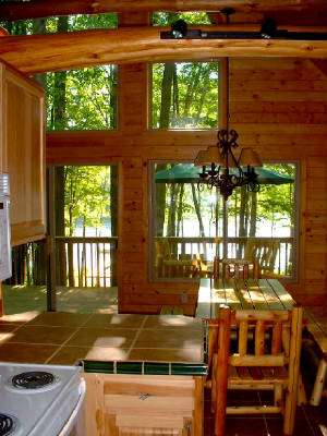 Log Cabin Getaways in Michigan